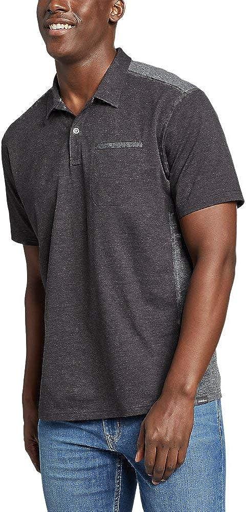 Eddie Bauer Men's Adventurer Short-Sleeve Polo Shirt