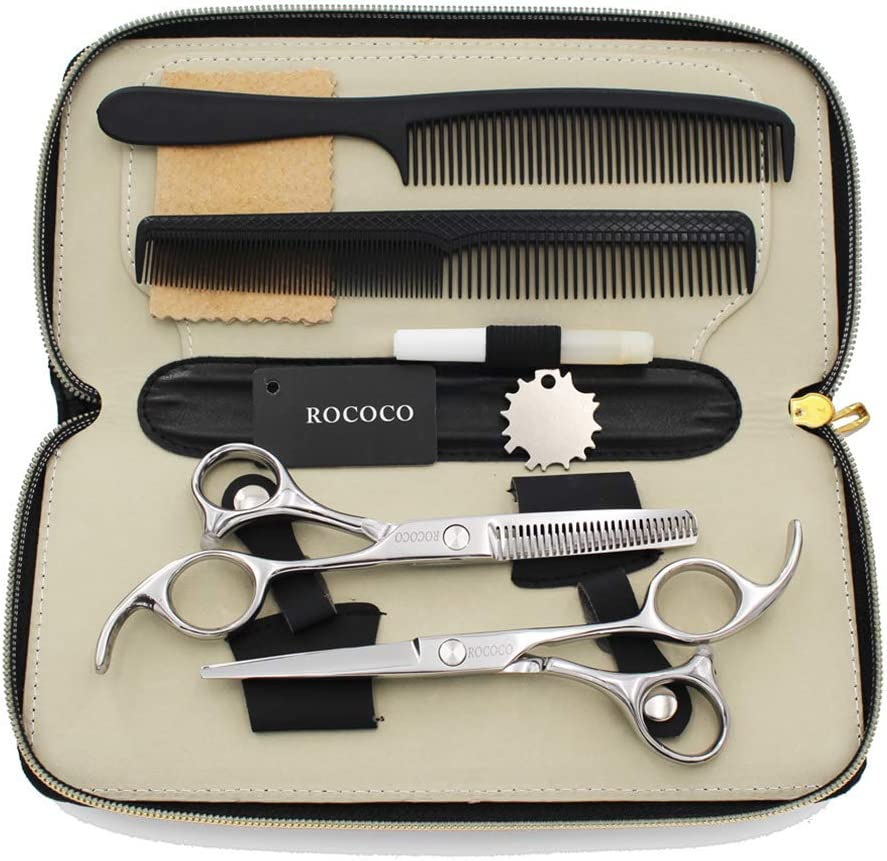 Hair Cutting Max 67% OFF 67% OFF of fixed price Scissors Thinning 5.5 Set T Inch