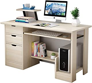 Extra Large Study Desk,Laptop Writing Table,Computer Pc Gaming Desk For Small Space,Home,Office,Bedroom,Study (C, 120x45x7...