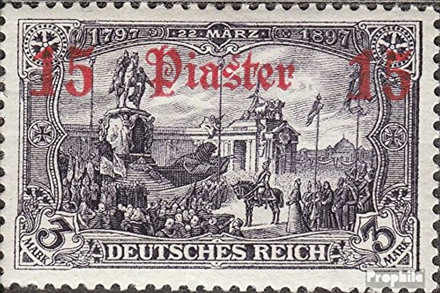 German. Post Turkey 34b 1905 print edition (Stamps for collectors)