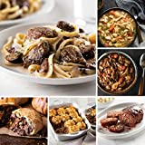 Ultimate Comfort Food Convenience from Omaha Steaks (Filet Mignon Stroganoff, Filet Mignon in Pastry, Beef Shepherd's Pie, Homestyle Meatloaf, Slow Cooker Meal: Beef Bourguignon, and more)