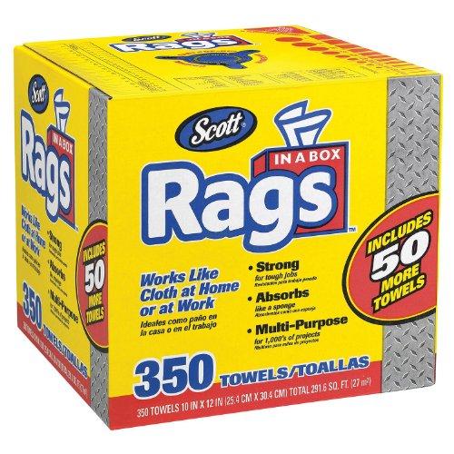 Scott Shop Rags In A Box (350ct.) Kansas