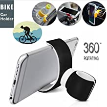 Elevin(TM) 360 Degrees Universal Air Vent Mount Bicycle Car Cell Phone Holder Stands Compatible with iPhone 6 Plus/7/8/X 3.5-6.0inch Phone