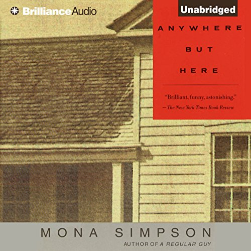 Anywhere But Here audiobook cover art