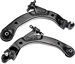 AUQDD 2PC K620302+K620301 Professional Front Lower Suspension Control Arm and Ball Joint Assembly for Chevrolet Cobalt HHR Pontiac G5 Pursuit Saturn Ion 521-321 521-322 (2PC(Left and Right))