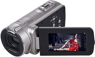 Andoer HDV-312P 1080P Full HD Digital Video Camera Portable Home-use DV with 2.7 Inch Rotating LCD Screen Max. 20 Mega Pixels 16× Digital Zoom