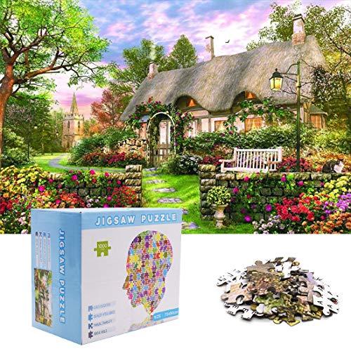 Rompecabezas Adultos - YUESEN Puzzle 1000 Piezas Puzzle Rompecabezas Regalo para Niños Adultos...