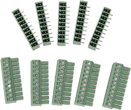 Qiorange Auto 35/A 12/V Coche Interruptor Impermeable Iluminado LED 4/Pines Cambio Switch Kippe Interruptor Basculante Interruptor de Encendido//Apagado para Faros antiniebla Delanteros