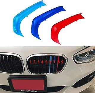 Motorsport Griglia Anteriore Trim Striscia Griglia di Decorazione Color Griglia di Copertura A Righe per BMW 1 Series F40 2020