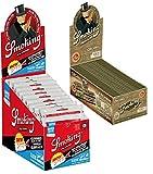 Smoking Organic - Cáñamo orgánico para Cigarrillos (Hojas de cáñamo orgánico orgánico, 50 Pastillas) + 1 Caja de Filtro para ahumar Classic Slim 30 x 120 filtros de Cigarrillos de 6 mm
