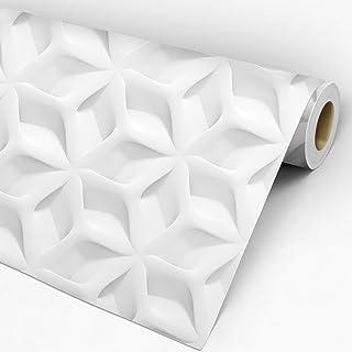 Papel de Parede 3D Adesivo Lavável Geométrico Narciso