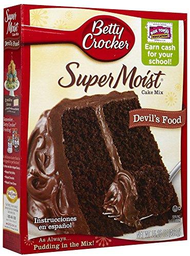 Betty Crocker Super Moist Devil's Food Cake Mix 432g (Betty Crocker Super feuchter Teufel Kuchenmischung)