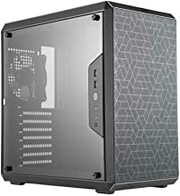 Cooler Master MCB-Q500L-KANN-S00 MasterBox Matx Tower w/ ATX MB Support, Magnetic Dust Filter, Transparent Acrylic Side Panel, Adjustable I/O And Fully Ventilated for Airflow