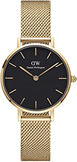 Daniel Wellington Unisex's Petite Evergold, 28mm, Black