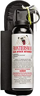 Frontiersman Bear Spray with Hip Holster - Maximum Strength & 30-Foot Range (7.9 oz)