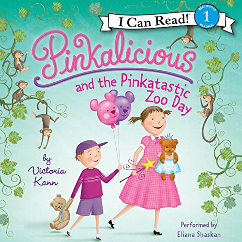 Pinkalicious and the Pinkatastic Zoo Day audiobook cover art