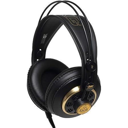 AKG セミオープン型ヘッドホン スタジオモニター K240S【国内正規品】