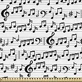 ABAKUHAUS Musik Gewebe als Meterware, Abstraktes