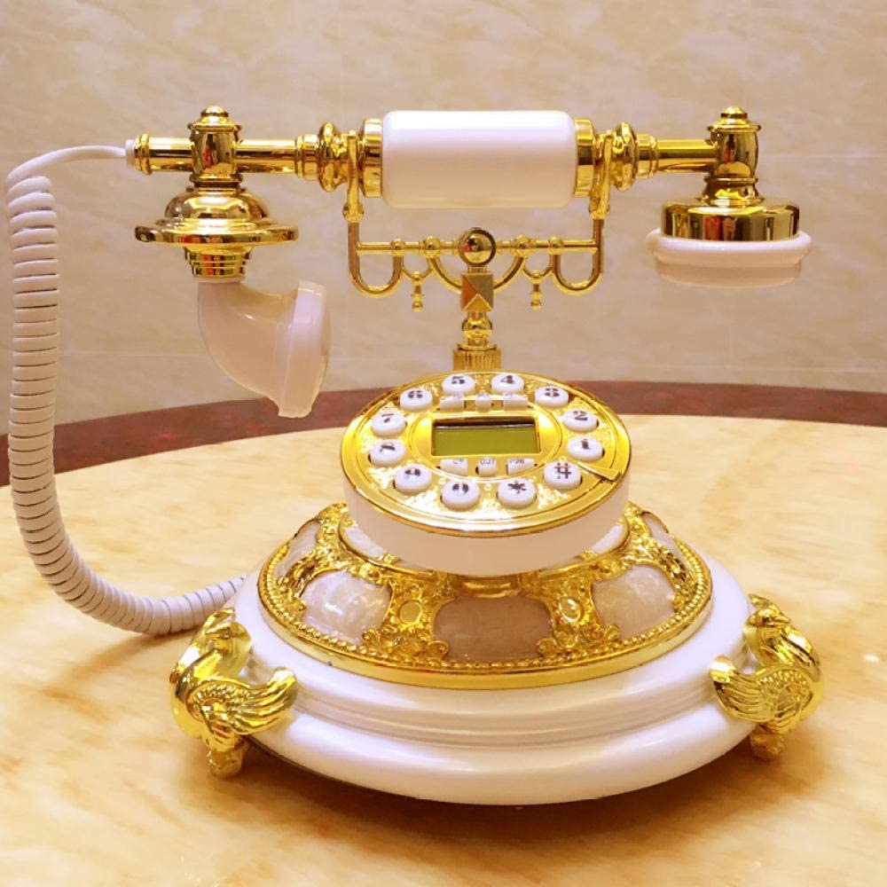 DSQK Home Décor Antique European Telephone Large 2021 new special price Old Landline
