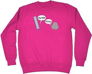 Funny Novelty Funny Sweatshirt - You Rock You Rule - Sweater Jumper
