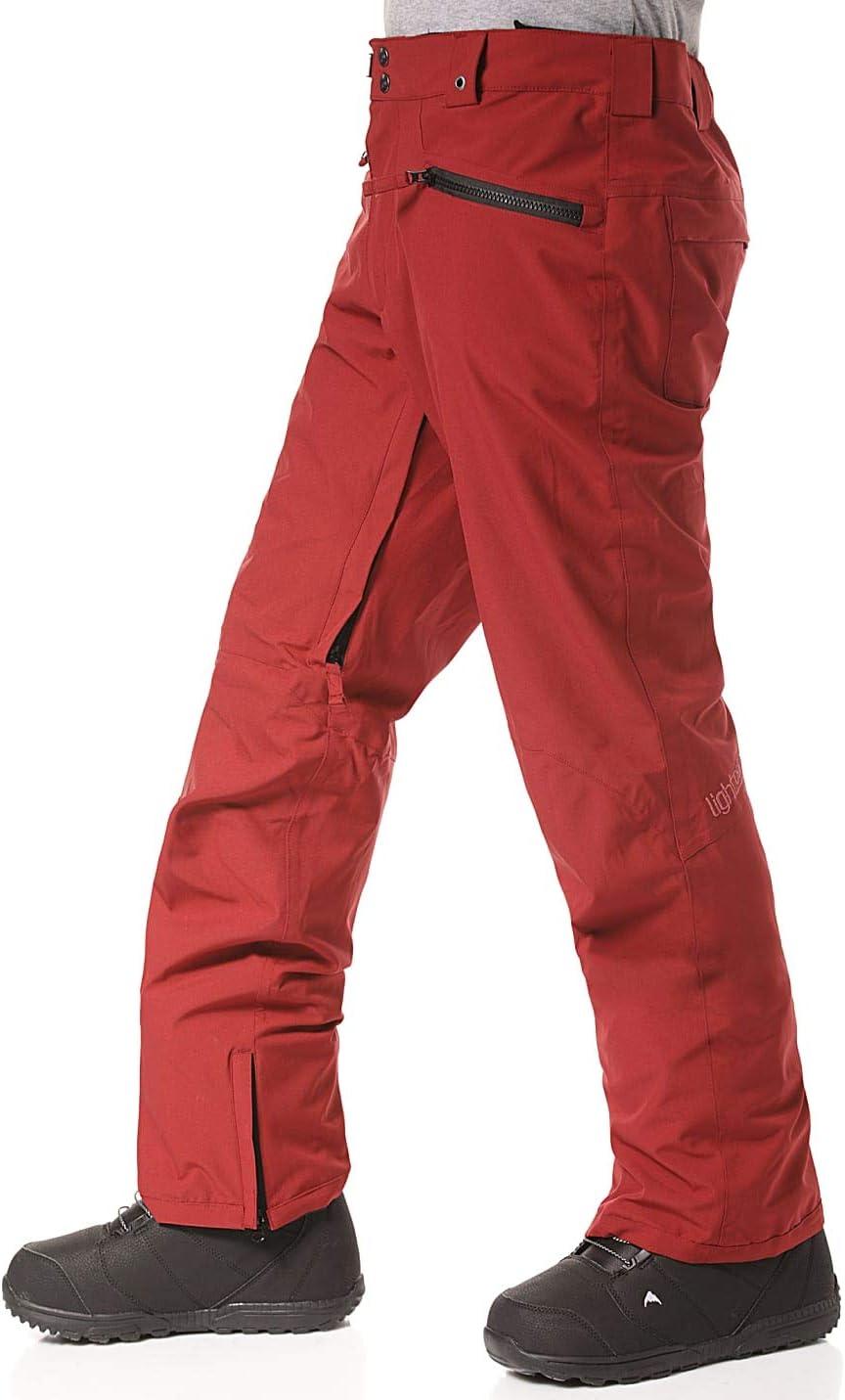 Light Moonshine Pantalon Mixte bordeaux