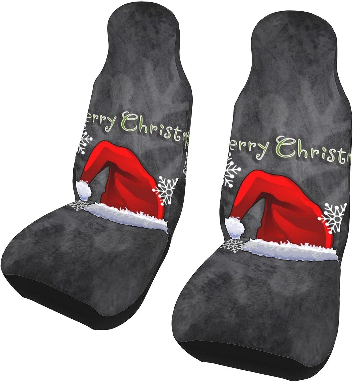 JOEKAORY New mail order Christmas Print Car seat pc Waterpro Covers Over item handling ☆ Customize 2