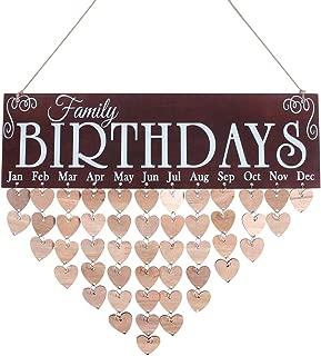 Best diy wooden birthday calendar Reviews