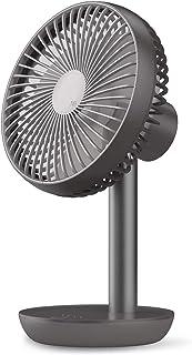 ルーメナー(LUMENA) コードレス扇風機 【最大20時間使用可能】ブラック LUMENA-FS-BK