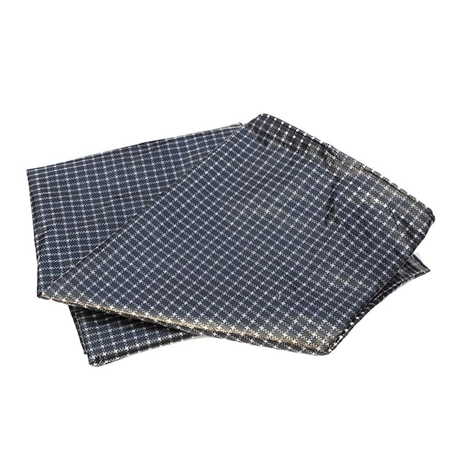 窒素禁じるチョークHPLL 多目的防水シート 黒と白のグリッド防水布、屋外キャンプ用日焼け止めプラスチック防水シートアンチエイジングキャノピー防雨布 防水シートのプラスチック布,防雨布 (Size : 3m×5m)