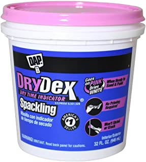 drydex spackling dry time