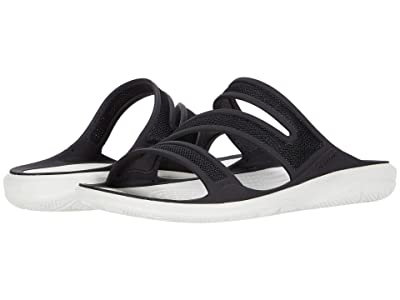 Crocs Swiftwater Telluride Sandal (Black/Almost White) Women