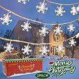 Christmas Snowflake String Light...