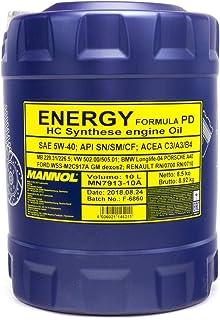 MANNOL Energy Formula PD 5W-40 API SN/SM/CF motorolie, 10 liter