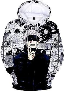 Harajuku New Jujutsu Kaisen 3D Hoodies Men/women Fashion Kids Long Sleeve Hooded Sweatshirt Casual Funny Jujutsu Kaisen Bo...