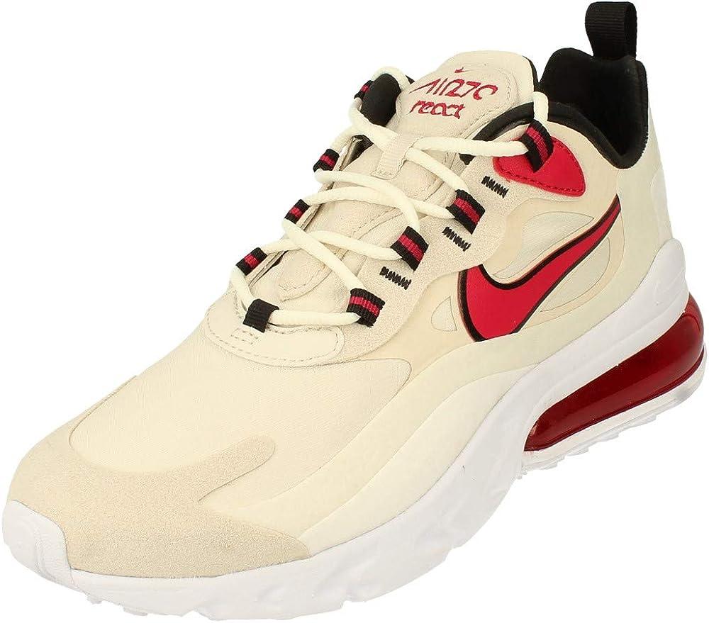Nike air max 270 react scarpe sneakers da ginnastica per uomo in pelle sintetica CT2535B