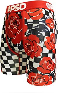 PSD Underwear NBA Mens Red Roses with Checkers