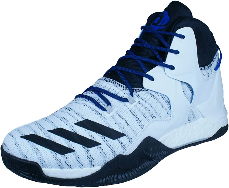 Adidas Men's D pink 7 Primeknit Basketball shoes
