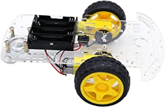 UIOTEC 2WD DIY Motor Smart Robot Car Chassis Kit Speed Encoder Battery for Arduino