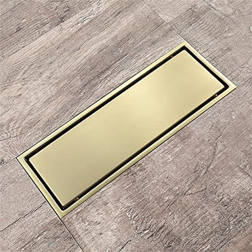 Bathroom Black Square Floor New Al sold out. Orleans Mall Drain Insert Tile Invisible Design F