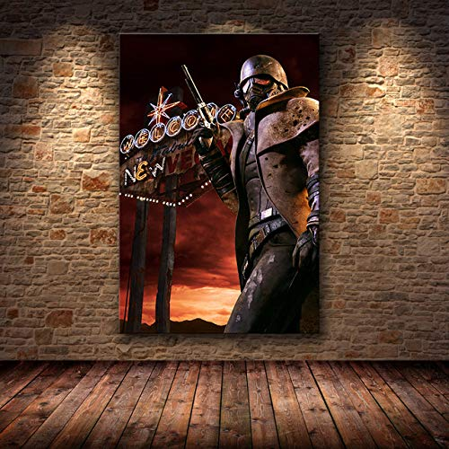 mmzki Charakter ölgemälde Cartoon Spiel Poster wandkunst leinwand Poster und Druck leinwand dekorative Bild für Schlafzimmer Zeichnung H