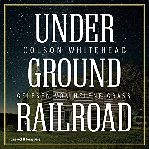 Underground Railroad audiobook cover art