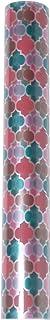 ニトムズ デコルファ (decolfa) ウィンドウシート ピンク ステンドグラス風 UVカット M4202