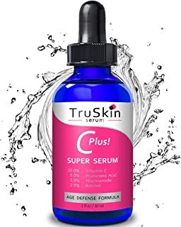TruSkin Vitamin C-Plus Super Serum, Anti Aging Anti-Wrinkle Facial Serum with..