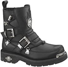 Best mens skull motorcycle boots Reviews