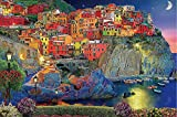 EXking Wood Puzzles Cinque Terre Puzzle Italy Large Paper Puzzle Jigsaw Puzzle Kids Adult
