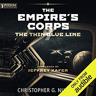 The Thin Blue Line audiobook cover art
