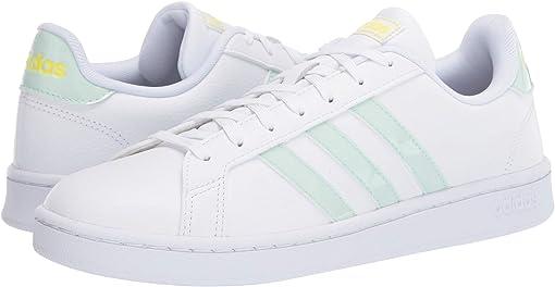 Footwear White/Dash Green/Shock Yellow