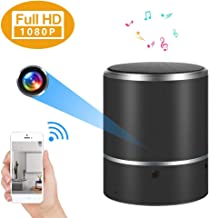 Hidden Camera 1080P WiFi Spy Camera Bluetooth Speaker with 180°Rotate Lens and Motion Detection