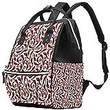 WJJSXKA Mochilas Bolsa de pañales Laptop Notebook Mochila de viaje Senderismo Daypack para Mujeres Hombres - Patrón de chile