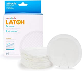 Munchkin Latch Miracle Nursing Pads, 120 Count